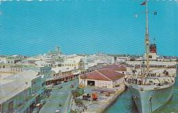Antilles - West Indies - Bermuda -  Q.T.E.V. Queen Of Bermuda - Dock Of Hamilton - Bâteau Paquebot - Bermudes