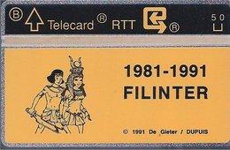 RTT - TELECARD  //  Phonecard - Télécarte - Telefoonkaart  //  Lucien De Gieter (Papyrus) - Zonder Classificatie
