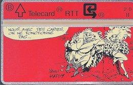 RTT - TELECARD  //  Phonecard - Télécarte - Telefoonkaart  // Marc Hardy (Lolo Et Sucette) - Zonder Classificatie