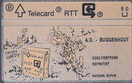 RTT - TELECARD  //  Phonecard - Télécarte - Telefoonkaart  // Marc Hardy (Pierre Tombal) - Zonder Classificatie