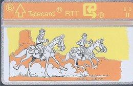 RTT - TELECARD  //  Phonecard - Télécarte - Telefoonkaart  // Lambil (Tuniques Bleues) (1) - Zonder Classificatie