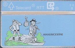 RTT - TELECARD  //  Phonecard - Télécarte - Telefoonkaart  // Lambil (Tuniques Bleues) (2) - Zonder Classificatie