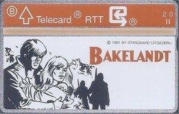 RTT - TELECARD  //  Phonecard - Télécarte - Telefoonkaart  // Hec Leemans (Bakelandt) - Zonder Classificatie