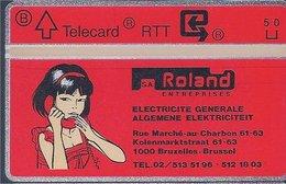 RTT - TELECARD  //  Phonecard - Télécarte - Telefoonkaart  // Roger Leloup (Yoko Tsuno) (1) - Zonder Classificatie