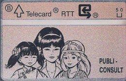 RTT - TELECARD  //  Phonecard - Télécarte - Telefoonkaart  // Roger Leloup (Yoko Tsuno) (2) - Zonder Classificatie