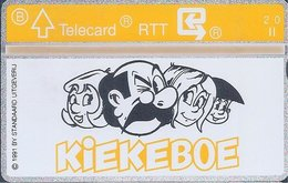 RTT - TELECARD  //  Phonecard - Télécarte - Telefoonkaart  // Merho (Kiekeboe) - Zonder Classificatie