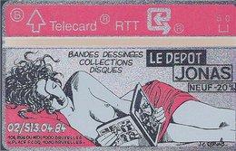 RTT - TELECARD  //  Phonecard - Télécarte - Telefoonkaart  // Jean-Claude Servais (Tendre Violette) - Zonder Classificatie
