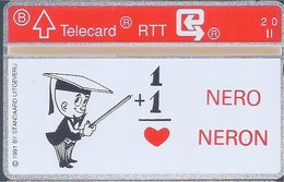 RTT - TELECARD  //  Phonecard - Télécarte - Telefoonkaart  // Marc Sleen (Adhemar) - Zonder Classificatie