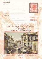 #BV6359 CARTO CLUB BUCURESTI, STREET , AFTER RAIN, CALEA VICTORIEI, POSTCARD STATIONERY, UNUSED, 2000, ROMANIA. - Interi Postali
