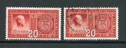 Norvège Y&T N°244 Neuf Avec Charnière * Et Oblitéré - Neufs