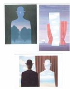 Lot 3 Cpm - Magritte - L'ami De L'ordre / Décalcomanie / La Joconde - Illustrators & Photographers