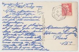73 - RECETTE AUXILIAIRE De NOTRE-DAME-DE-BELLECOMBE SAVOIE - GANDON 22-6-1949 - CP LES GORGES DE L'ARLY UGINE - Frankrijk
