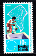 Tokelau MNH Scott #34 10c Community Well 1972 South Pacific Commission 25th Anniversary - Tokelau