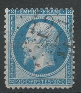 Lot N°33834   N°22, Oblit GC 4272 VILLERS-BRETONNEUX (76), Ind 3 - 1862 Napoleon III
