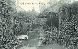 -ref-P195- Seine Et Marne - Meilleray -environs De La Ferte Gaucher - Le Lavoir - Lavoirs - Laveuse - Laveuses - Metiers - La Ferte Gaucher