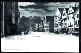 Postkarte Ansichtskarte AK Um 1900 Gruss Aus Landshut - Neustadt - Landshut