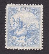 Liberia, Scott #16, Mint No Gum, Liberia, Issued 1880 - Liberia