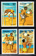 Tokelau MNH Scott #77-#80 Set Of 4 1981 Sports: Pole Vaulting, Volleyball - Tokelau