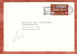 Brief, EF Altstoffverwertung, MS Schweizerwoche Zuerich 1942 (34011) - Cartas