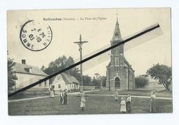 CPA  - Bettembos (Somme ) - La Place De L'Eglise - France
