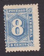 Liberia, Scott #32, Mint Hinged, Number, Issued 1889