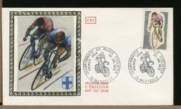 FRANCE - FDC - CAMPIONATI DEL MONDO CICLISMO '72  - MARSEILLE - Ciclismo