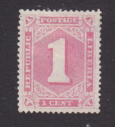 Liberia, Scott #24a, Mint No Gum, Number, Issued 1885 - Liberia