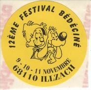 BEDECINE 1996 BOULE & BILL De ROBA Badge Papier Jaune Adhésif ILLZACH (2) - Boeken, Tijdschriften, Stripverhalen