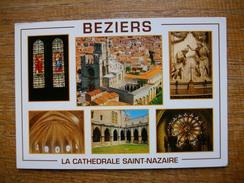 Hérault , Béziers , Cathédrale St-nazaire , Multi-vues - Beziers