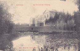 Lierneux - La Colonie Et L'Etang (animée, Edit. Wayaffe, 1908) - Lierneux