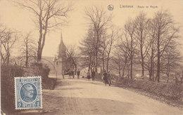 Lierneux - Route De Regné (animée, Edit. Libre Echange) - Lierneux