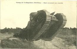 56 Cpa Coetquidam Camp Tank Char - Autres Communes