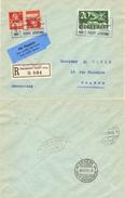 70) SVIZZERA LETTERA VOLO LAUSANNE-GENEVE 24.7.1925 COMPTOIR SUISSE - Posta Aerea