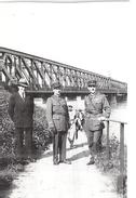 "MILITAIRES A ""KEHL  STRASBOURG- 24 MAI 1931    LE RHIN ICI A 240 M"" - Guerre, Militaire"