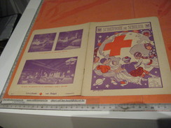 """6 Protège Cahiers :  """"seulement"""" Les  Couvertures - Lithos -red Cross, Croix Rouge, Shang-hai, Jules Verne, Poules PACHA - Protège-cahiers"""