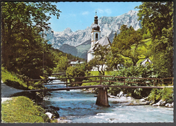 Germany Ramsau 1976 / Health Resort / Spa / Tourism / Church / Reiteralpe - Bad Windsheim