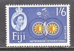 FIJI 183  **   DATE  LINE - Fiji (...-1970)