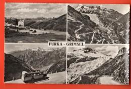 DUS-17  Furka-Grimsel, Multivues. Bus Postal, Postauto. Non Circulé - VS Valais