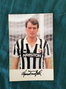 Fotografia Allegata A Hurrà Juventus Anni '80/90 Di Marco Tardelli Della Juventus - Calcio