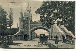 -  QUEBEC - St LOUIS GATE - L A Porte, Fiacre, écrite, AncienneTBE, Scans. . - Québec - Château Frontenac