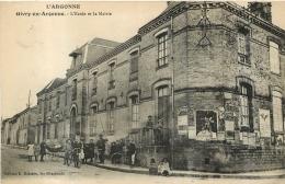 GIVRY EN ARGONNE  ECOLE ET LA MAIRIE - Givry En Argonne