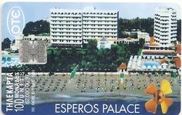 Greece - Esperos Hotel - X0339 - 06.1997 - 62.000ex, Used - Greece