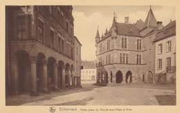 CPA Echternach, Petite Place Du Marché Avec Hotel De Ville (pk31634) - Echternach