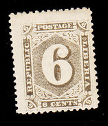 Liberia, Scott #28, Mint Hinged, Number, Issued 1885 - Liberia