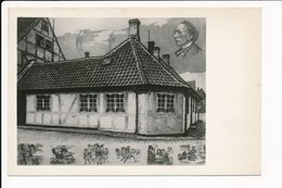 Odense H C Andersens Fodested Hans Andersen's Birthplace  Lieu De Naissance Du Poëte - Danemark