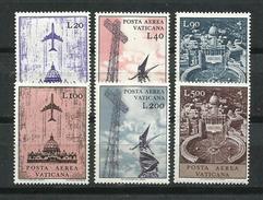 Vaticano. 1967_Correo Aéreo. Serie Ordinaria. - Nuevos