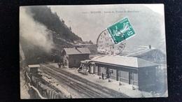 CPA Modane Entrée Du Tunnel Du  Mont Cenis - Modane