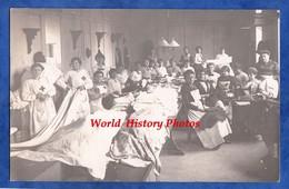 CPA Photo - TROYES - Hôpital Auxiliaire 201 - Les Infirmiéres Au Travail - Décembre 1914 - Croix Rouge - Nurse - Guerre 1914-18