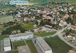 68 - STAFFELDEN PRES WITTELSHEIM - VUE AERIENNE - France