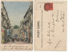 HONGKONG - QUEEN'S ROAD WEST Cartolina/postcard #55 - Cartoline